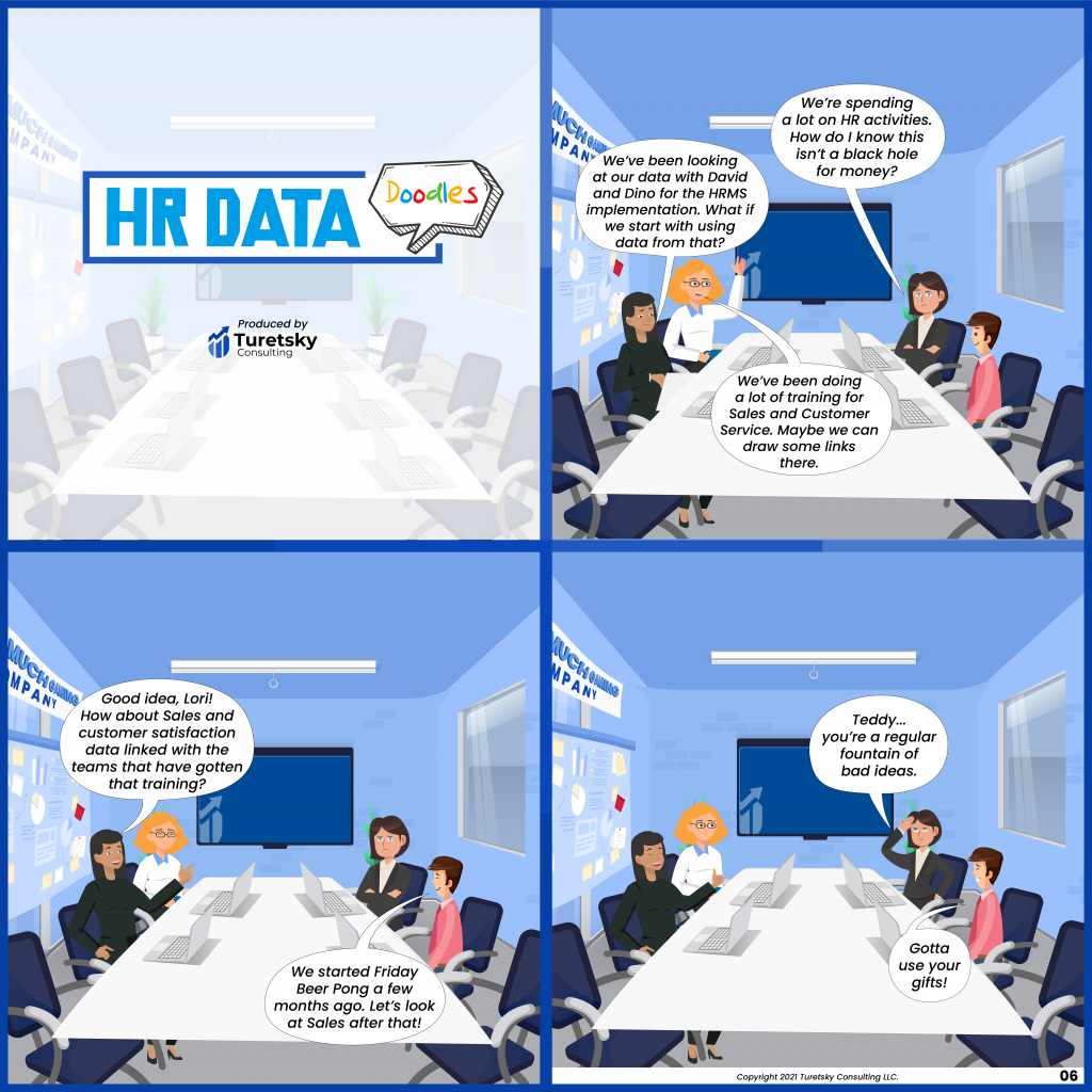 HR Data Doodles #6