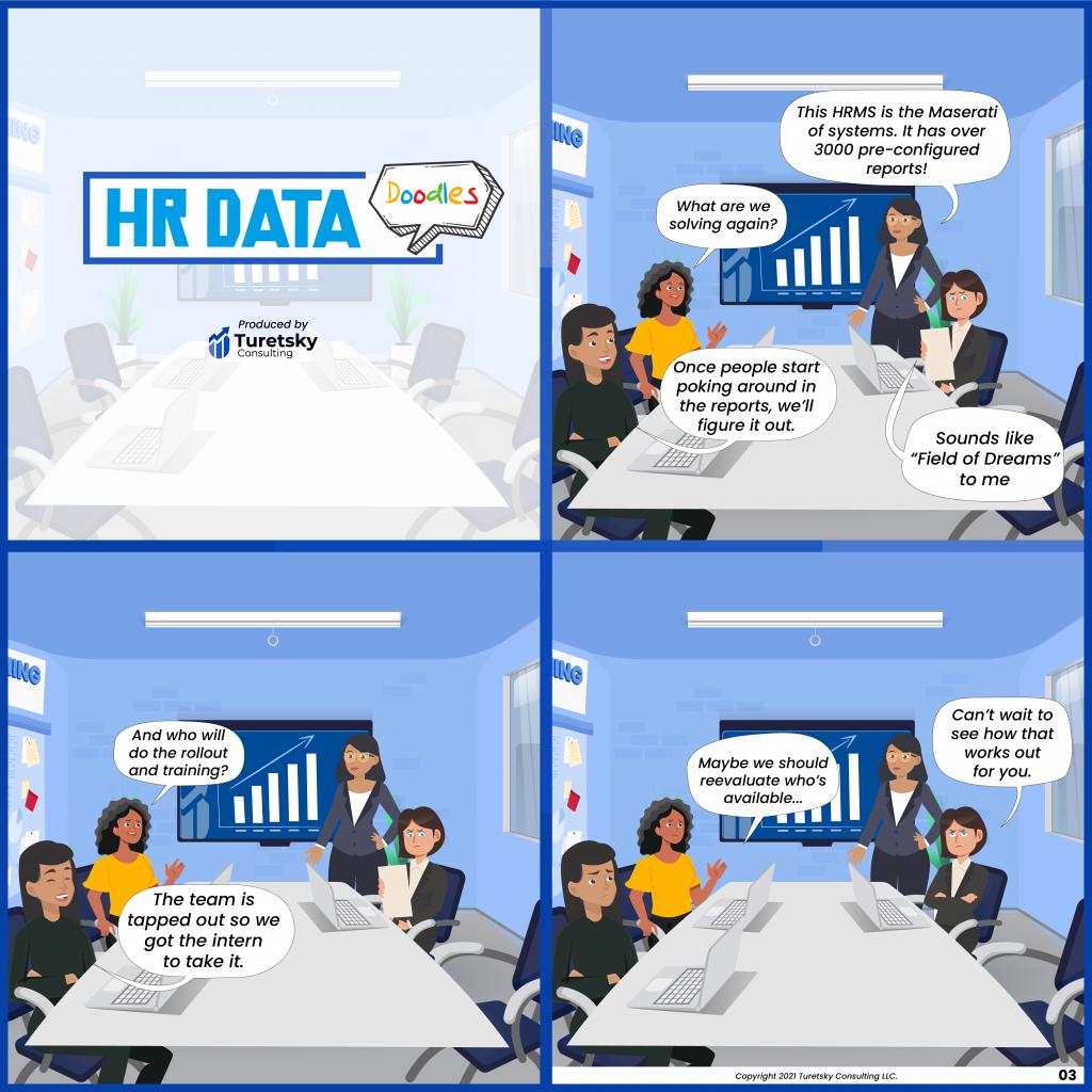 HR Data Doodles #3