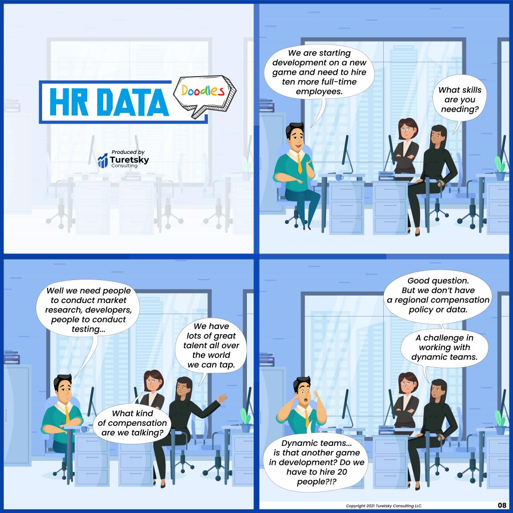 HR Data Doodles #8