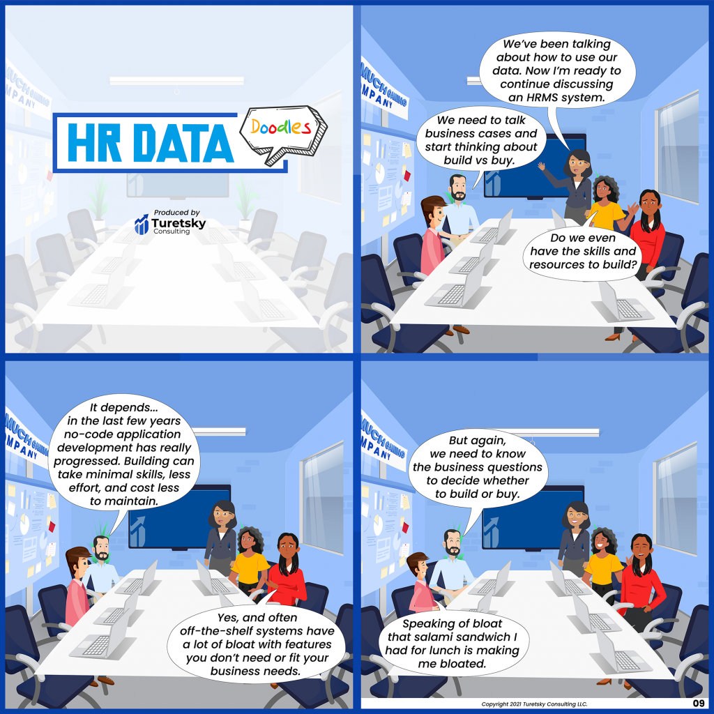 HR Data Doodles #9