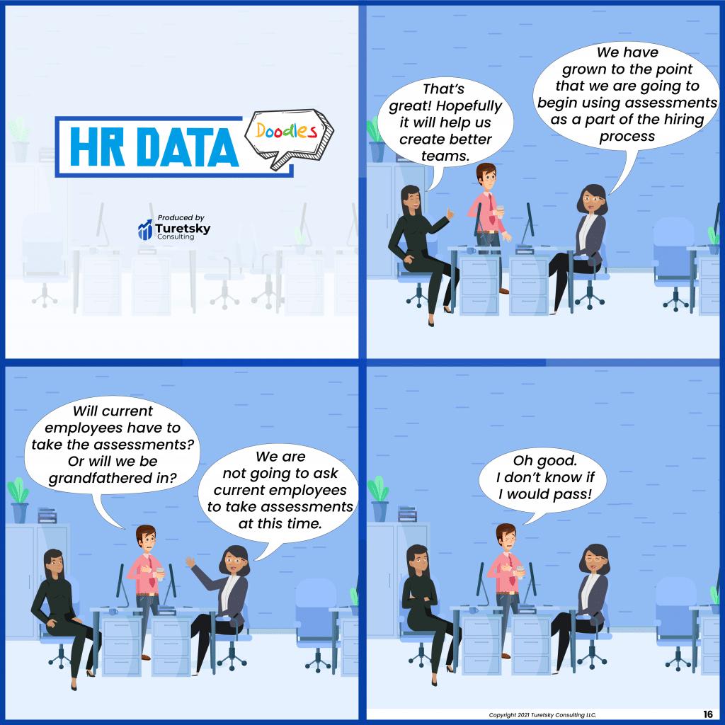HR Data Doodles #16